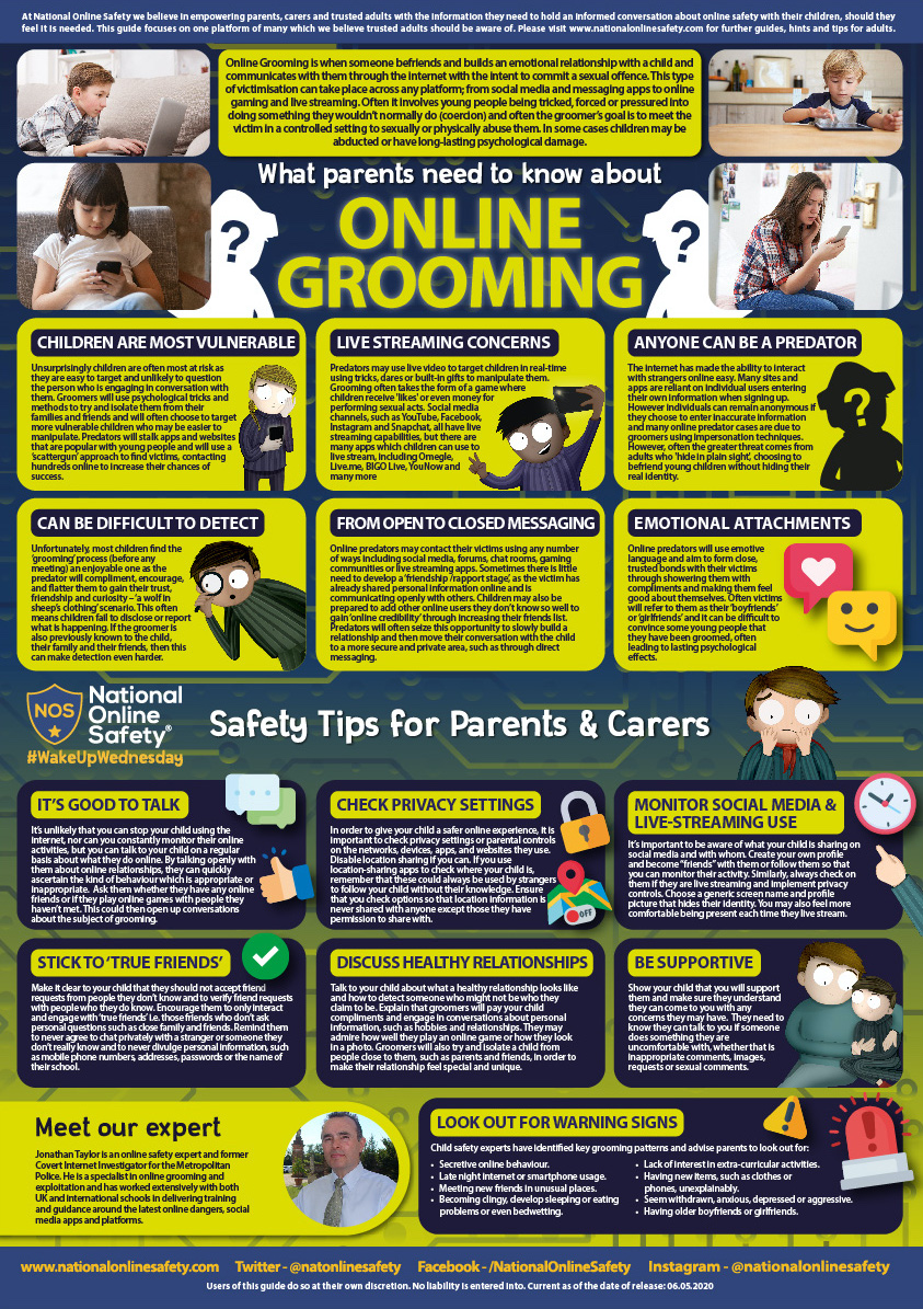 Online Grooming Poster